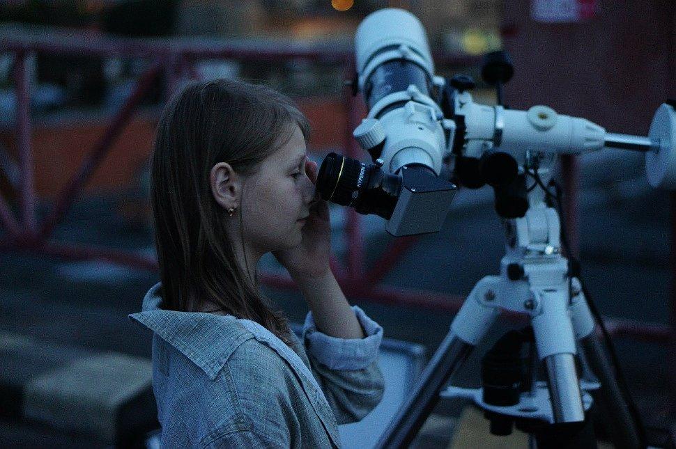 Наблюдения в телескопы