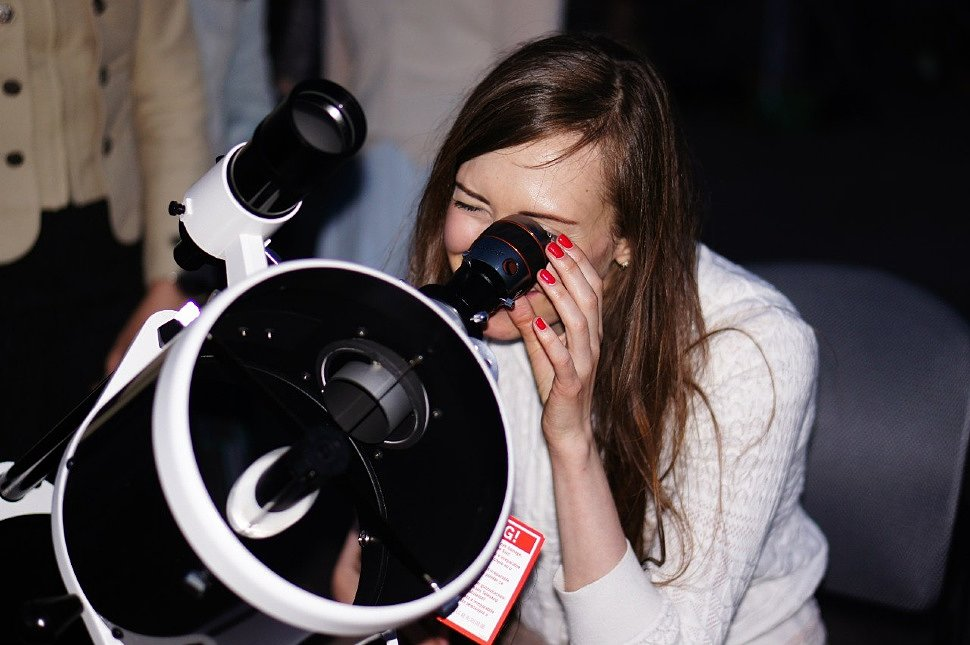 Астрономические наблюдения в телескопы