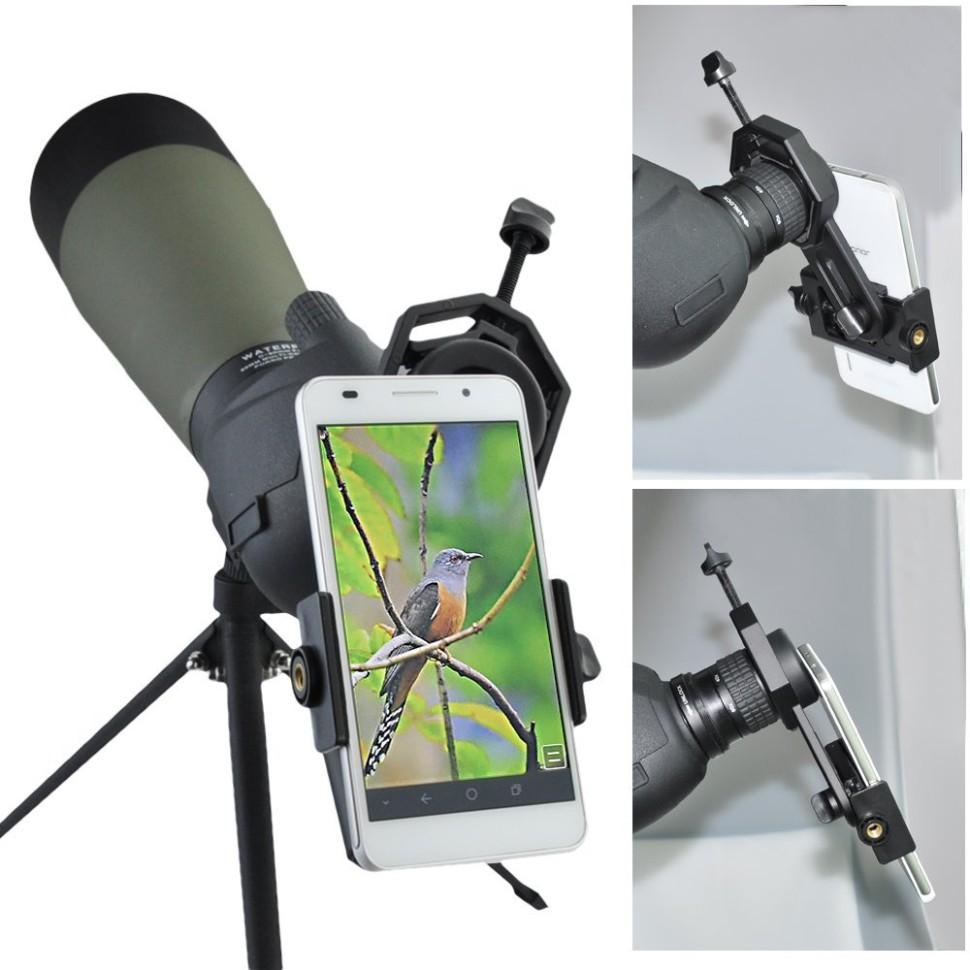 Bell howell telescoping smartphone holder garden hose clamps