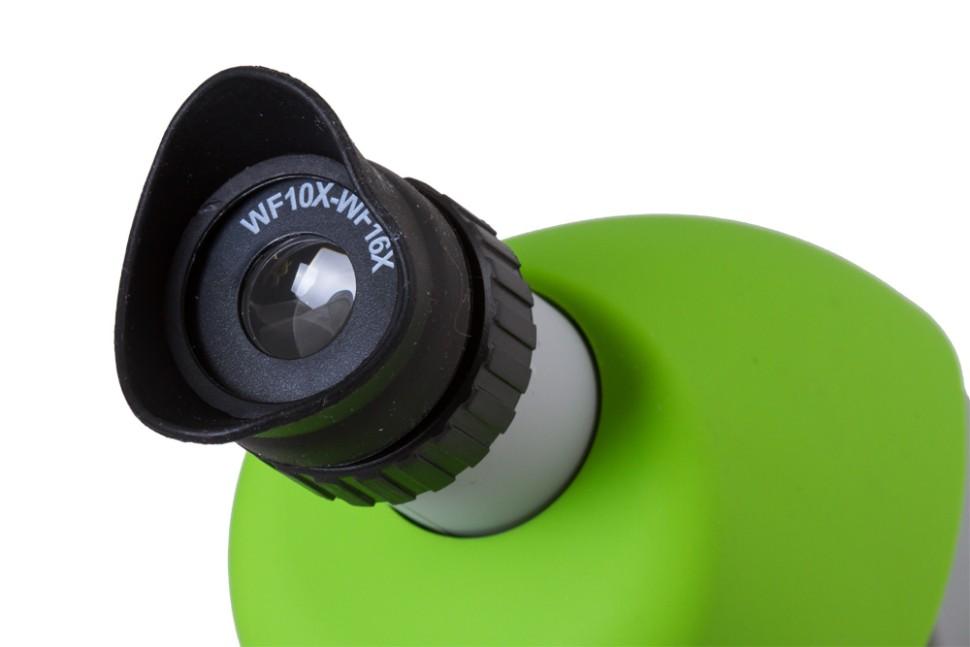 Купить микроскоп bresser junior зеленый в интернет магазине